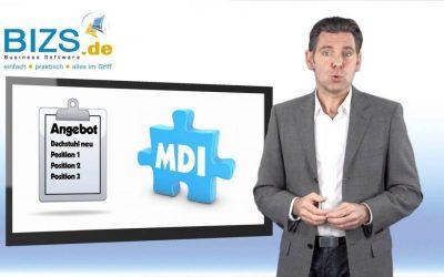 Übersicht mit MDI Technologie