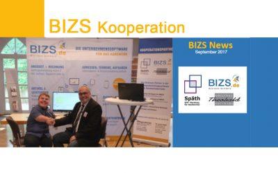 Kooperationsvereinbarung zwischen Späth EDV Beratung / HWS  und BIZS.de Business Software