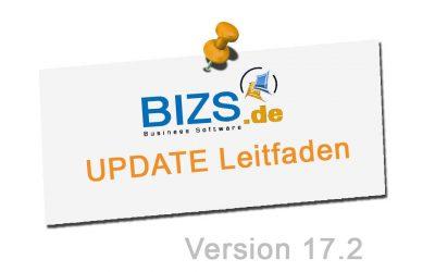 BIZS 17.2 Update Leitfaden