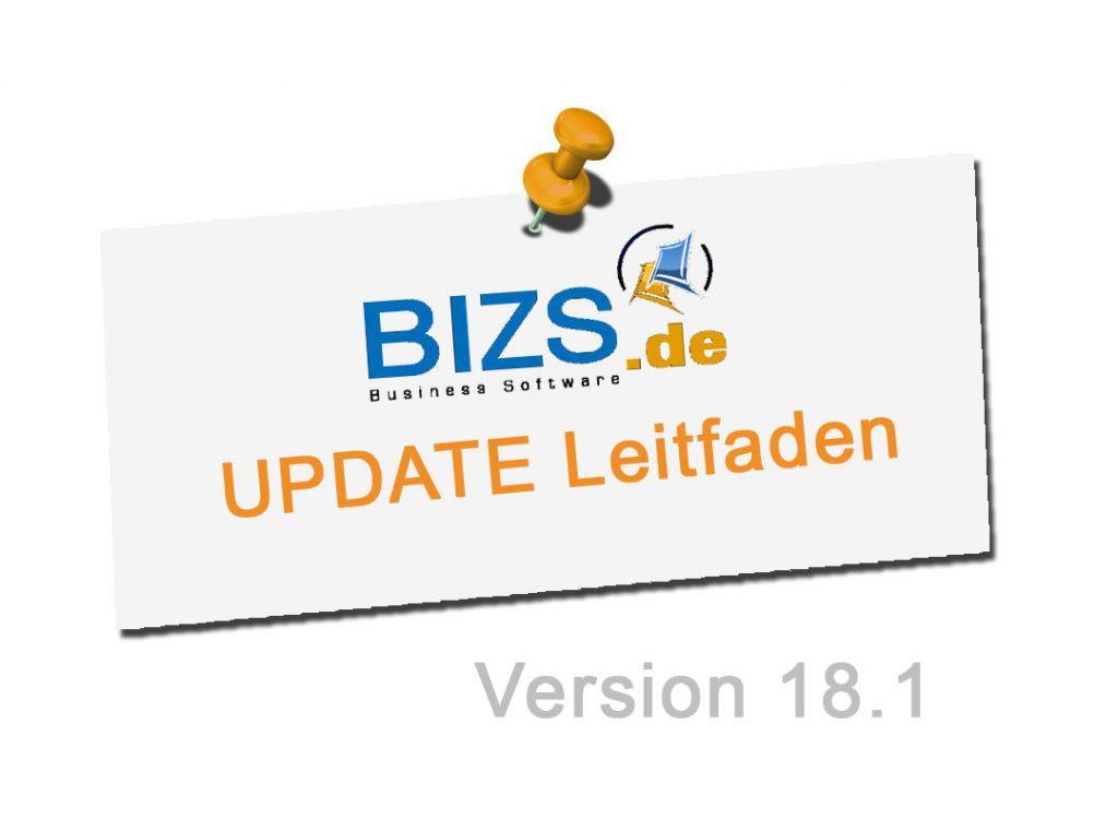 BIZS Update 18.1 Leitfaden