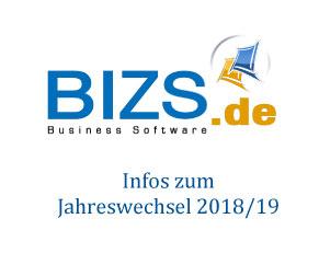 BIZS Informationen zum Jahreswechsel 2018 / 2019