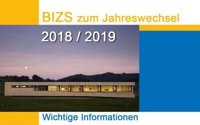 BIZS Jahreswechsel 2018/19