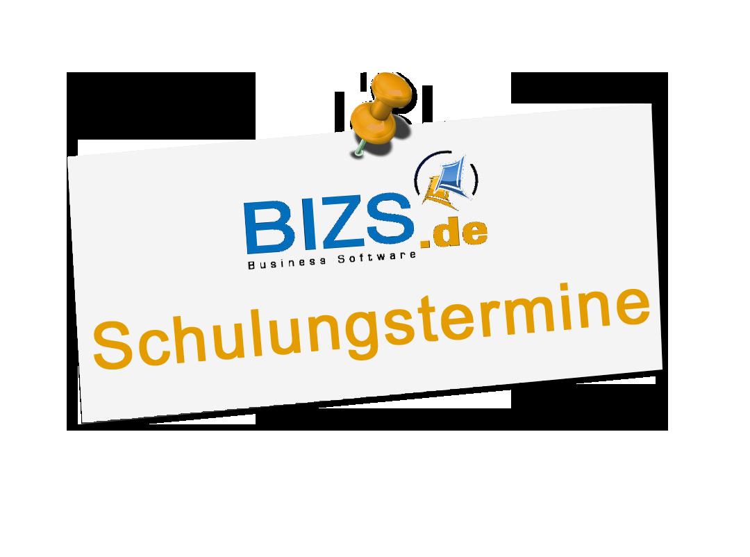 Neue Schulungstermine für BIZS - die Business Software