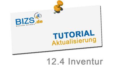 """Neues BIZS Tutorial """"Inventur"""""""