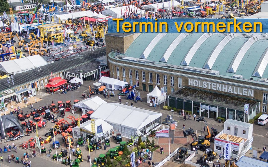 11.-15. September: NordBau 2019 – Messe in Neumünster