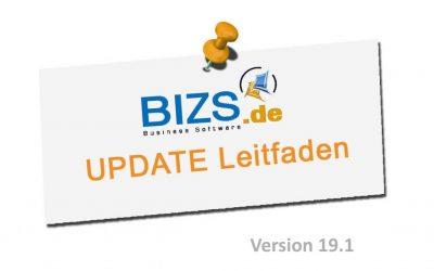 BIZS 19.1 Update Leitfaden