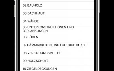 """APP""""Zeitansätze für Zimmerer"""" Holzbau Baden Württemberg verfügbar!"""