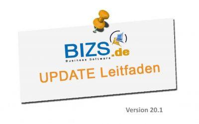 BIZS 20.1 Update Leitfaden